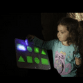 Glo Shape Board,Glo Board Hills Valley and River,Twoey toys,Twoey glow in the dark resources,school resources, resources for children, reception resource